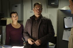 Tony (Michael Weatherly) and Ziva (Cote de Pablo)