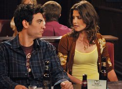 Josh Radnor and Cobie Smulders