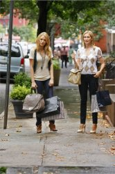 Gossip Girl - Blake Lively as Serena and Kelly Rutherford as Lily
