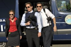 Maggie Lawson as Juliet O\'Hara, Gary Cole as Cameron Luntz, Tim Omundson as Carlton Lassiter