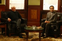 Monk - Hector Elizondo as Dr. Bell, Tony Shalhoub as Adrian Monk