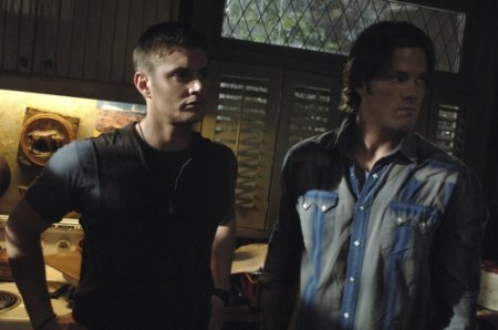 Supernatural - Jensen Ackles as Dean Winchester, Jared Padalecki as Sam Winchester