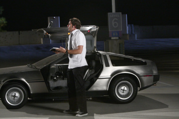 chuck vs the delorean