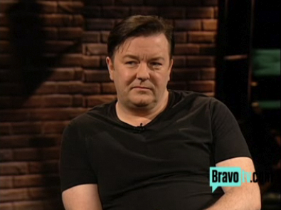 Ricky Gervais - Inside the Actors Studio