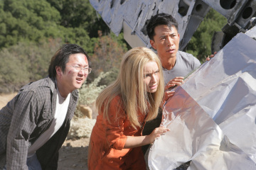 Masi Oka as Hiro Nakamura, Hayden Panettiere as Claire Bennet, James Kyson Lee as Ando Masahashi