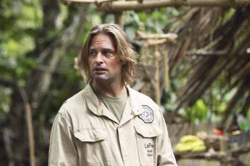 JOSH HOLLOWAY as Sawyer on Lost
