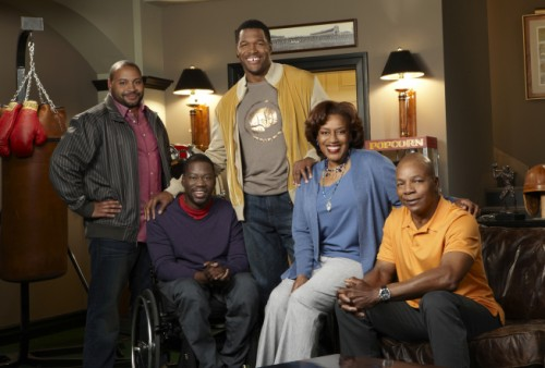 "Colton Dunn, Daryl ""Chill"" Mitchell, Michael Strahan, CCH Pounder and Carl Weathers - Brothers"