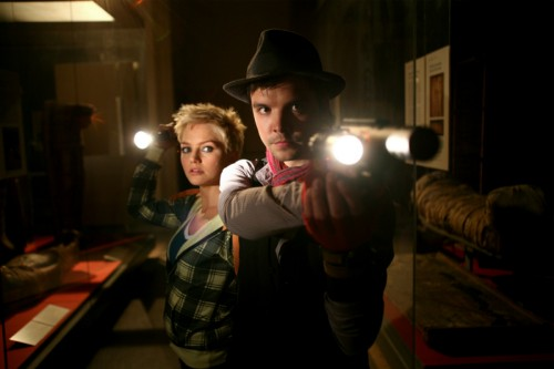 Hannah Spearritt (Abby), Andrew-Lee Potts (Connor) - Primeval