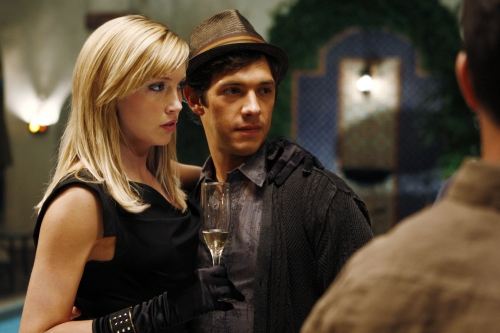 Katie Cassidy as Ella and Michael Rady as Jonah