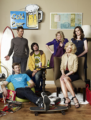 Jon Foster, Grant Show, Nicolas Wright, Ashley Jensen, Jenna Elfman and Lennon Parham