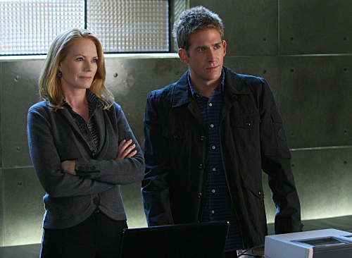 Marg Helgenberger and Eric Szmanda 2