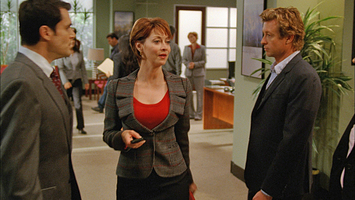 Sharon Lawrence in THE MENTALIST
