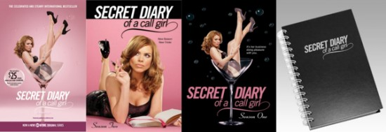 Secret Diary of a Call Girl giveaway