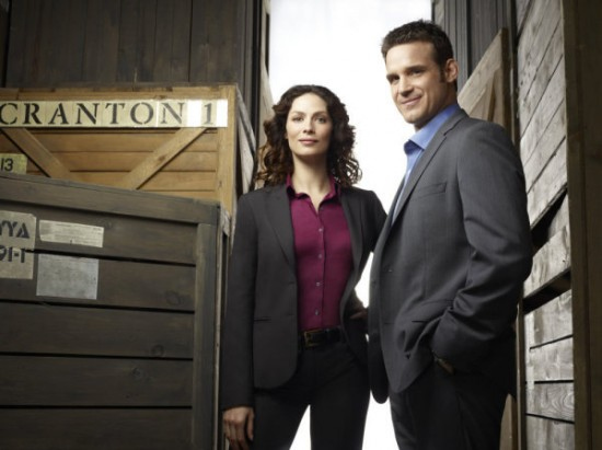 Joanne Kelly and Eddie McClintock - Warehouse 13