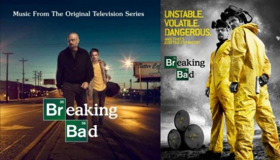 Breaking Bad soundtrack and poster