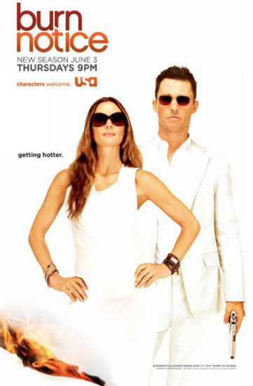 Burn Notice Season 4 Poster