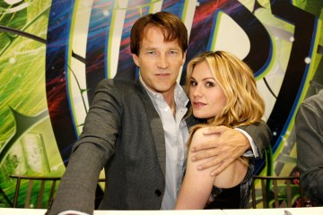 True Blood stars Stephen Moyer and Anna Paquin - COMIC CON 2010