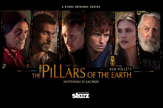 The Pillars of the Earth 2010 (Starz)