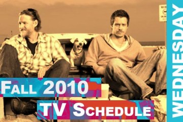 Fall 2010 TV Schedule - Daemon's TV