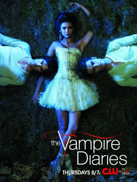The Vampire Diaies (CW) Season 2 poster