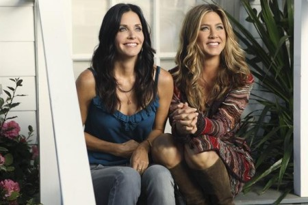 Cougar Town (ABC) All Mixed Up - COURTENEY COX, JENNIFER ANISTON