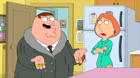 FAMILY GUY Baby, You Knock Me Out