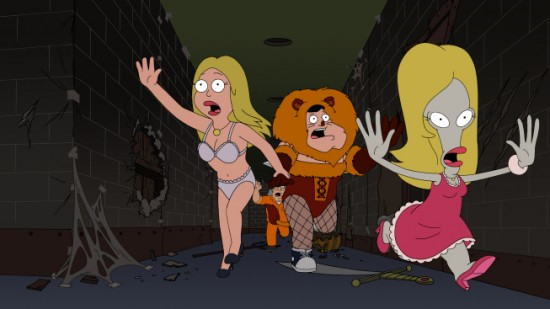 AMERICAN DAD (FOX) The Best Little Horror House in Langley Falls