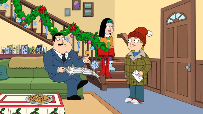 """AMERICAN DAD """"For Whom The Sleigh Bell Tolls"""""""