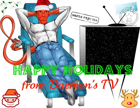 Happy Holidays 2010 from Daemon's TV