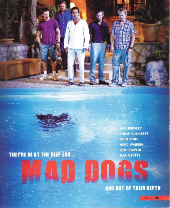 Mad Dogs (Sky 1) poster
