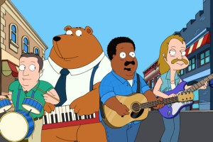 THE CLEVELAND SHOW The Blue, The Gray and The Brown Season 2 Episode 16 (4)