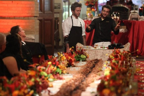 """Marcel's Quantum Kitchen (SyFy) """"The Heat Is On"""""""