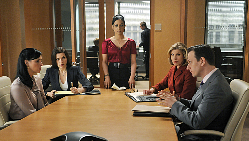 """THE GOOD WIFE """"Getting Off"""" Season 2 Episode 22"""