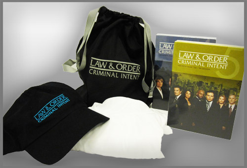 law and order ci prize pack 2011