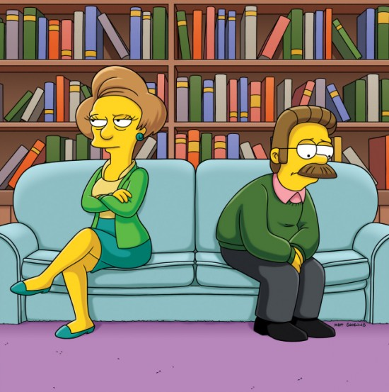 """THE SIMPSONS """"The Ned-Liest Catch"""""""