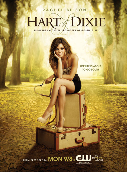 hart of dixie cw poster