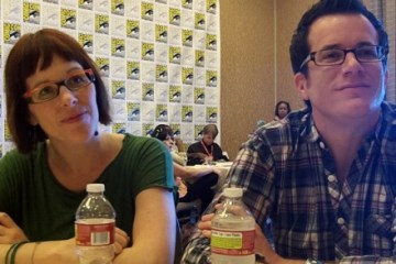 jeremy carver anna fricke being human comic-con 2011