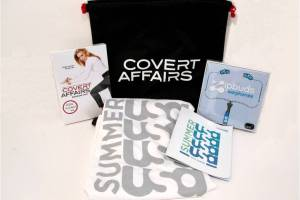 covert affairs summer 2011 prize pack