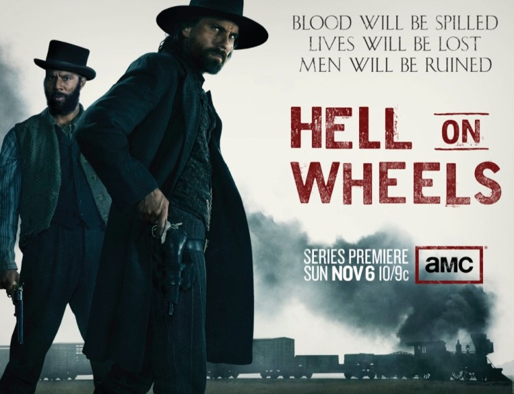 Hell on Wheels Quad Poster