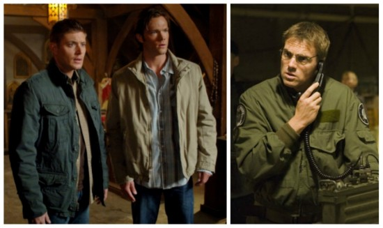 Dean and Sam - Supernatural; Daniel - Stargate SG-1