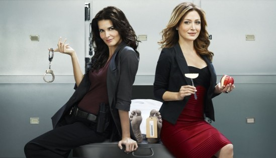 Maura and Jane on Rizzoli and Isles
