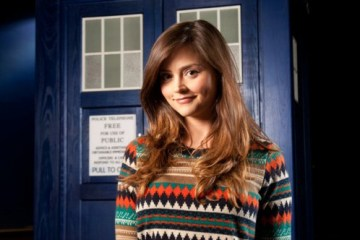 first Official Doctor Who Photo Jenna-Louise Coleman