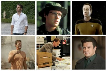 Hank - Royal Pains; Daniel - Stargate SG-1; Data - Star Trek: The Next Generation; Walter - The Finder; McGee - NCIS, Castle - Castle