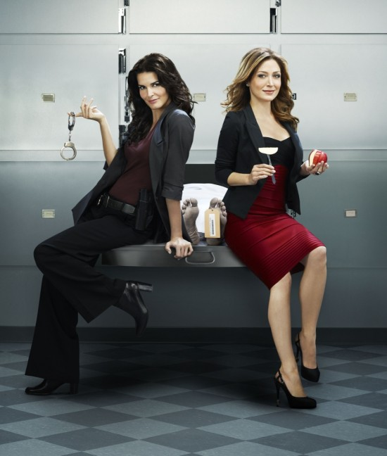 Cast from Rizzoli and Isles