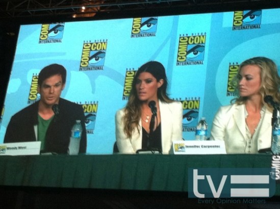 dexter comic-con 2012 panel 04