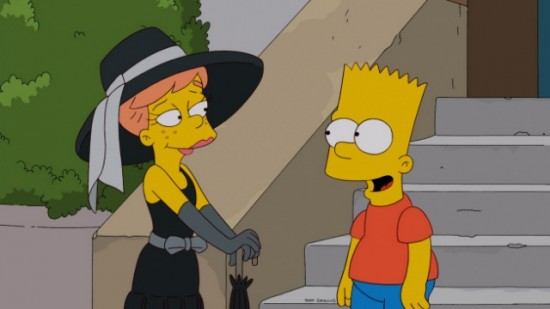 Fall 2012 The Simpsons Season 24 Premiere Moonshine River