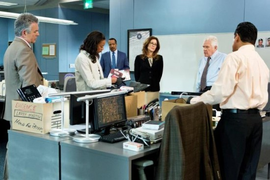 Flynn, Sykes, Taylor, Raydor, Provenza, Sanchez - Major Crimes
