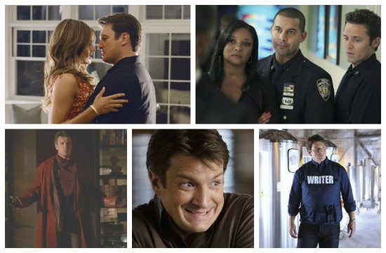 Castle and Beckett, Lanie, Javier and Kevin, Rick Castle - Castle