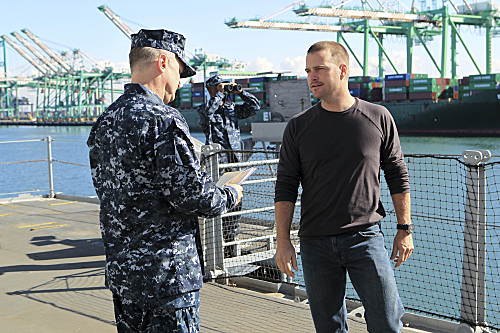 NCIS: Los Angeles Christmas Episode 2012 Free Ride (4)