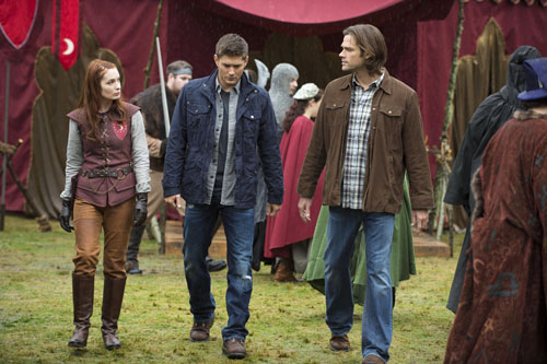 Supernatural Season 8 Episode 11 Larp and the Real Girl (13)